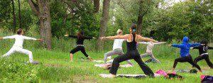 mini yoga retraite kralingse bos